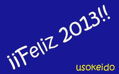 Feliz año 2013 - www.usokeido.com